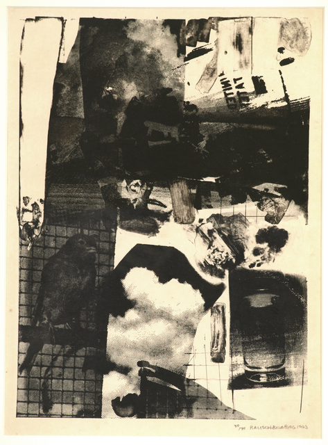 Robert Rauschenberg, 'Rival', 1963, Carl Solway Gallery