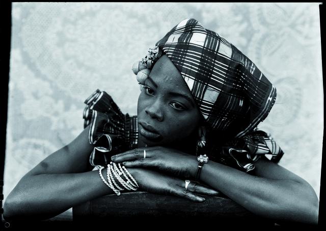 , 'Malian woman portrait,' 1949-1951, RMN Grand Palais