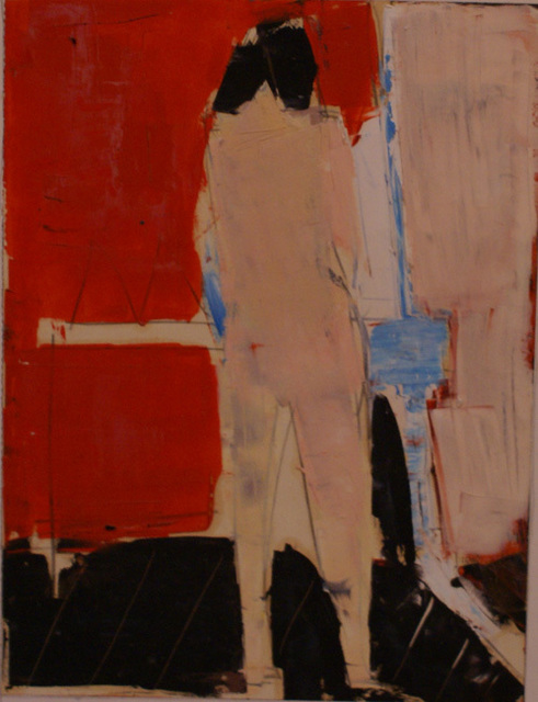 , 'Standing Figure,' ca. 1962, Osborne Samuel