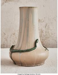 Green Snake Vase