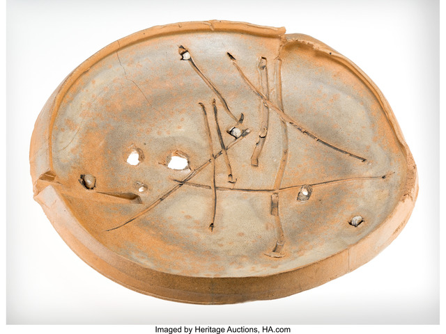 Peter Voulkos, 'Pierced Plate', 1980, Heritage Auctions