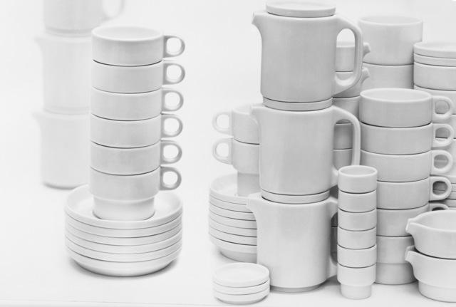 ", 'Tableware for large-scale kitchens ""TC100"",' 1959, MAKK – Museum für Angewandte Kunst Köln"