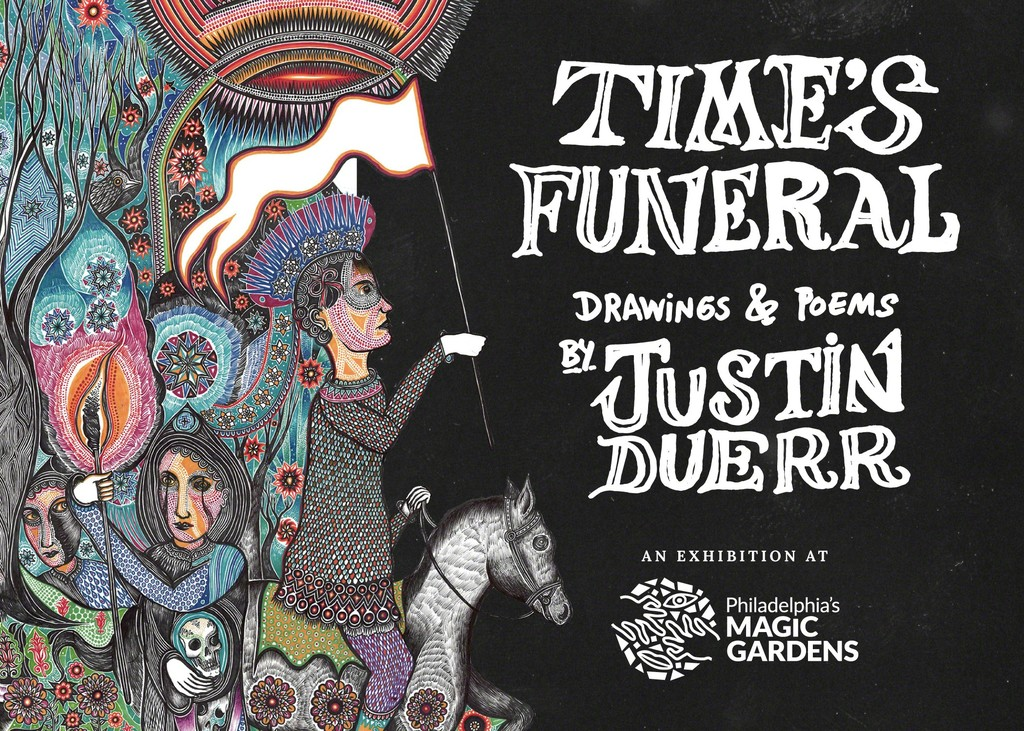 Time's Funeral: Drawings and Poems by Justin Duerr