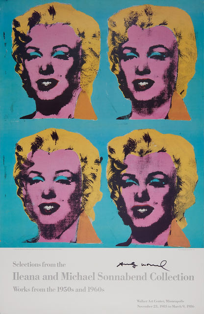 Andy Warhol, 'Four Marilyns, Selections from the Ileana & Michael Sonnabend Collection/Works from the 1950's and 1960's', 1962, Rago