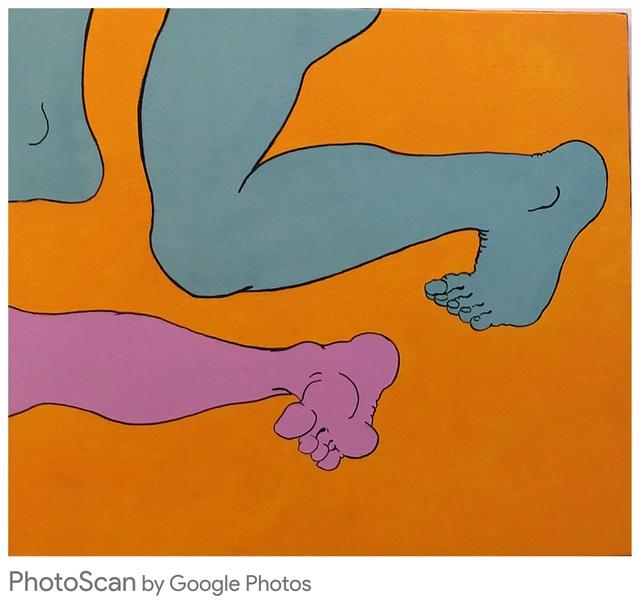 , 'Feet,' 2017, Ro2 Art