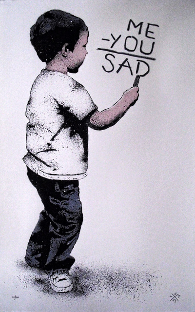 , 'Me-You=Sad,' 2013, MUCA