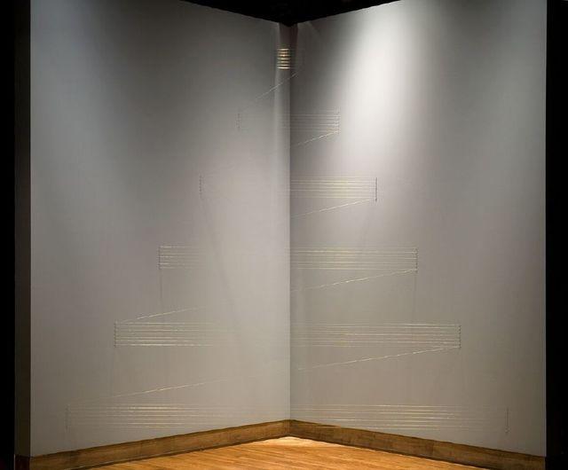Lygia Pape, 'Tteia', 1976-2004, Installation, Installation of gold thread, El Museo del Barrio