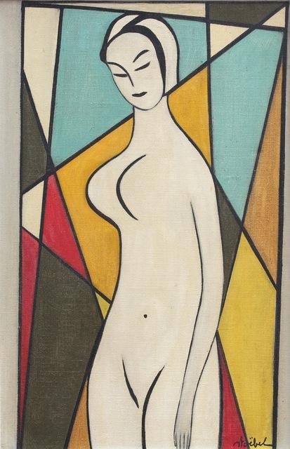 , 'Standing Nude,' 1960-1969, Bureau of Interior Affairs