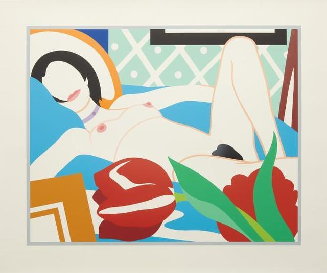 Tom Wesselmann, 'Monica With Tulips', 1989, Upsilon Gallery