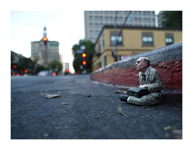 , 'Homeless. San Jose. CA EEUU,' 2013, ANNO DOMINI