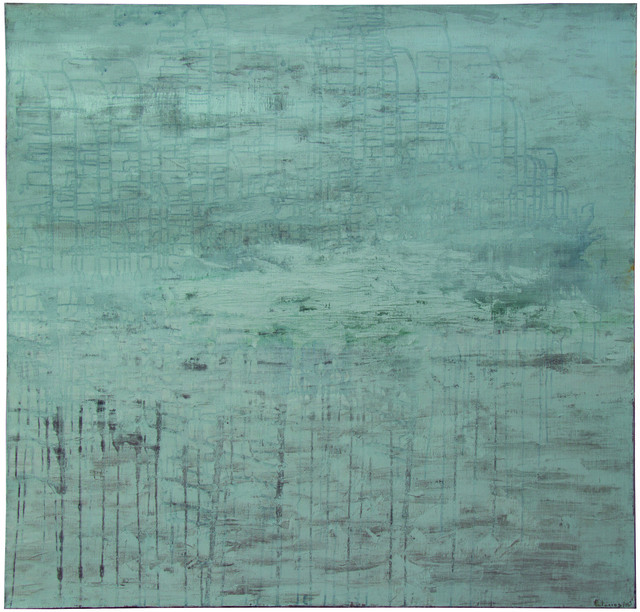 Irma Palacios, 'Rios de plata', 2016, Painting, Oleo/tela, Quetzalli Arte y Diseño
