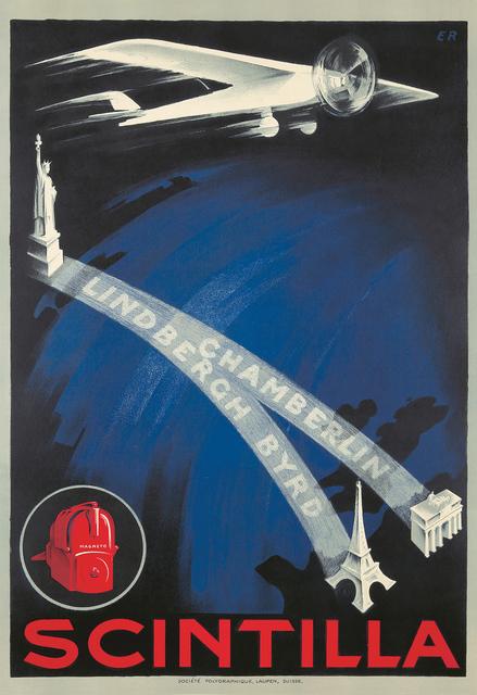 , 'Scintilla: Lindbergh / Byrd / Chamberlin. ,' 1927, Rennert's Gallery