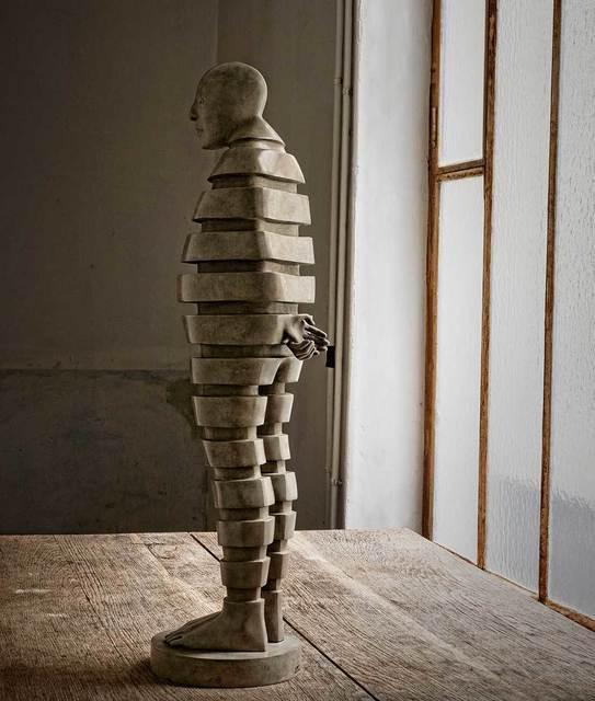 Isabel Miramontes, 'Entasis', 2018, Sculpture, Bronze, Villa Domus