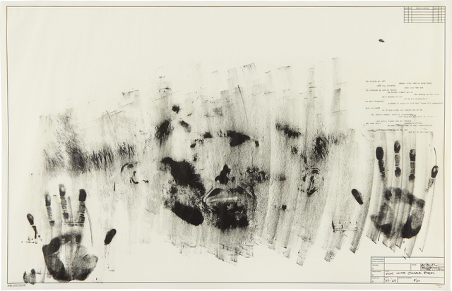 Jasper Johns, 'Skin with O'Hara Poem', 1963-1965, Phillips