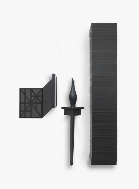 , 'Untitled (black),' 2014, Kadel Willborn