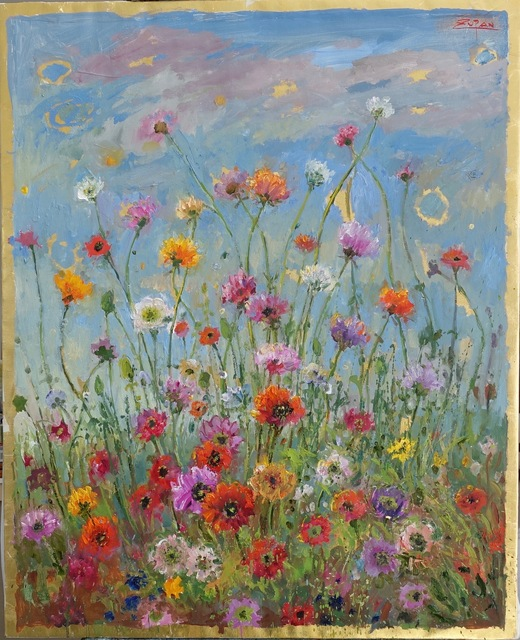 , 'Gifts of Nature: Wild Poppies in the Field,' 2017, Galerie d'Orsay