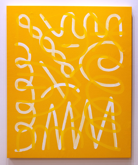 , 'Jazz Movement Study (White & Yellow),' 2019, Subliminal Projects
