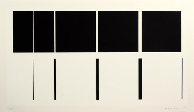 Aurelie Nemours, 'Sur le nombre cinq ', 1943-1994, Galerie La Ligne