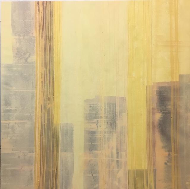 , 'Anet Duncan: Mistic city IV, acrylic on canvas,' 2019, PontArte