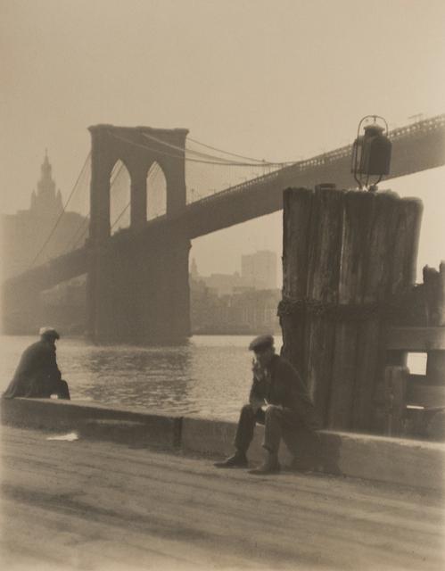 , 'Brooklyn Bridge,' 1921, Bruce Silverstein Gallery