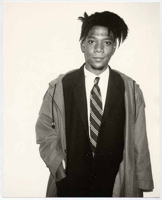 Andy Warhol, 'Jean-Michel Basquiat', 1984, Galerie Andrea Caratsch