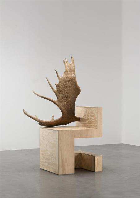 , 'Stag Chair Left (Natural Plywood),' 2007, Carpenters Workshop Gallery