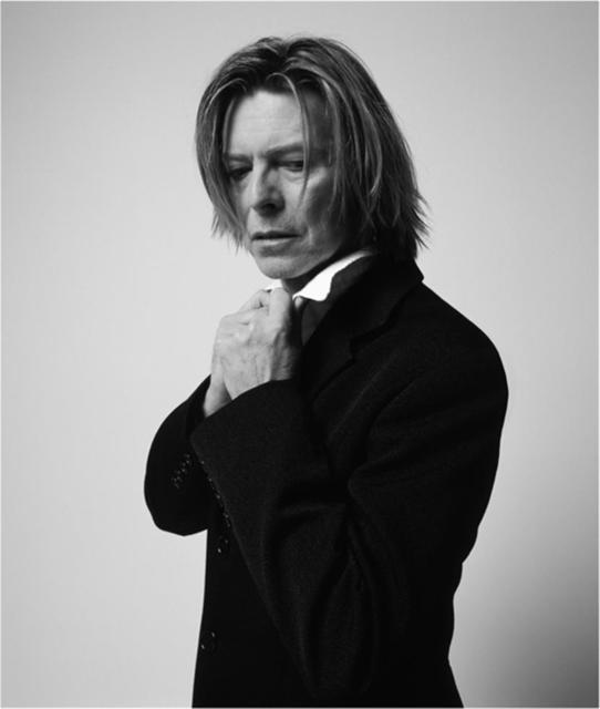 , 'Bowie, In Black Jacket Looking Down, NYC,' 2002, The Bonnier Gallery