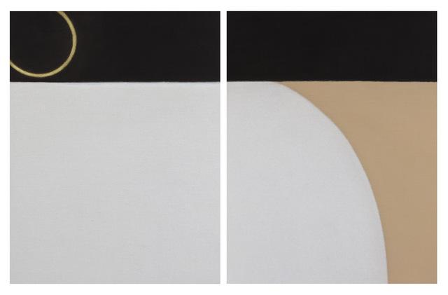 , 'Untitled (Diptych),' 2016, Tayloe Piggott Gallery