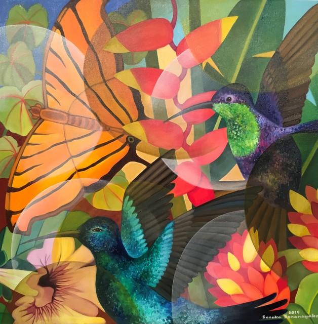 , 'Butterflies,' 2019, Grosvenor Gallery
