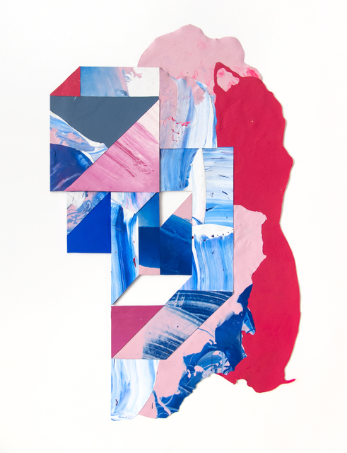 Anna Taratiel (OVNI), 'Sintetico #11', 2019, Painting, Acrylic collage, sc gallery
