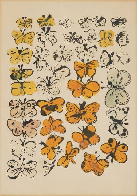 Andy Warhol, 'HAPPY BUTTERFLY DAY', circa 1955, Doyle