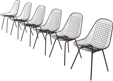 Six Wire Chairs from Craig Ellwood's Hunt House