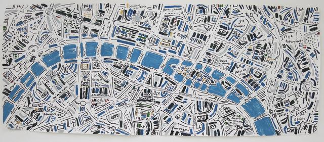, 'Lapis and Gold Paris,' 2014, Rebecca Hossack Art Gallery