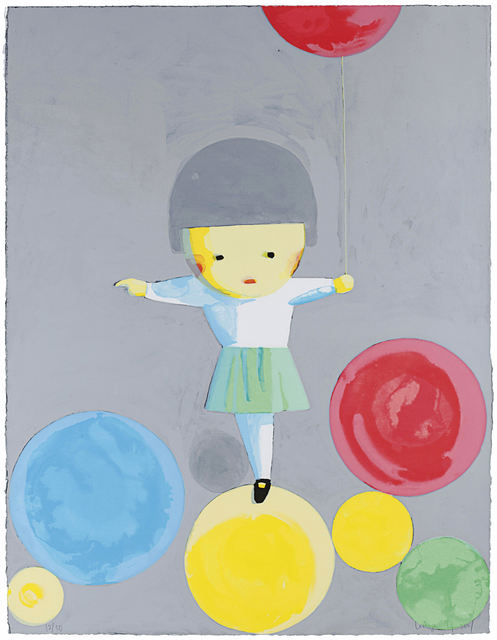 Liu Ye 刘野, 'Little Girl With Balloons', 2001, Lougher Contemporary