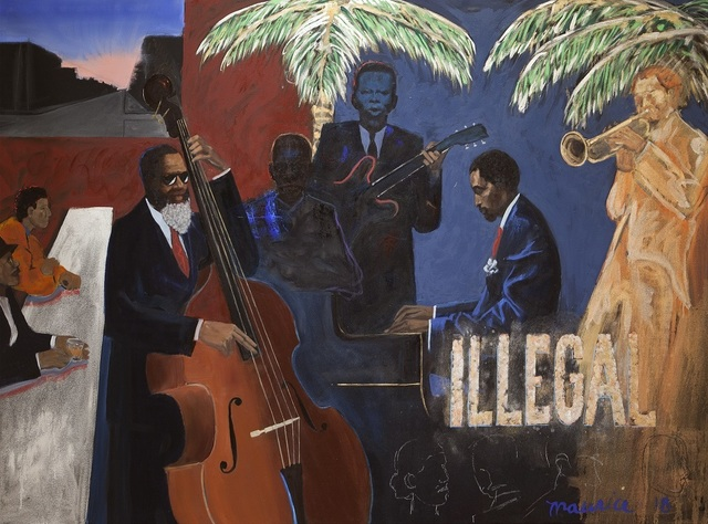 , 'Illegal,' 2018, Gerald Peters Contemporary