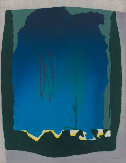 Helen Frankenthaler, 'Freefall', 1993, Print, Woodcut, Susan Sheehan Gallery