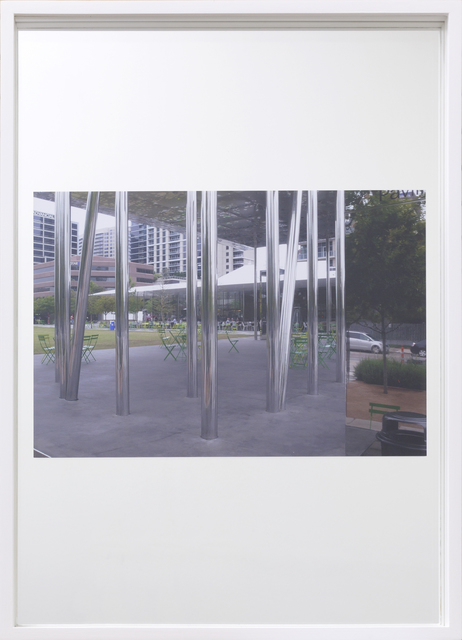 , 'Mirrors, Muse Family Pavilion, Klyde Warren Park, Dallas (Thomas Phifer, 2012),' 2013, Georg Kargl Fine Arts