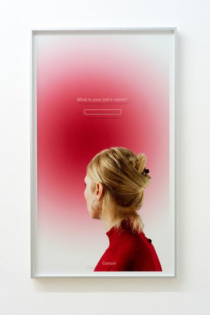 , 'KE,' 2015, Bernhard Knaus Fine Art