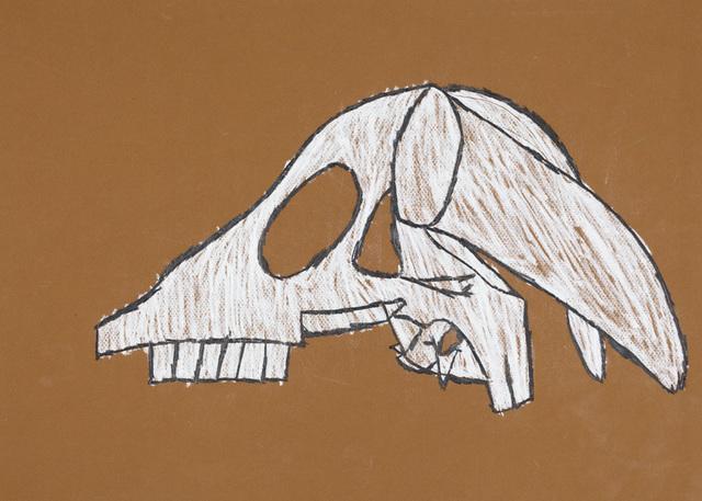 , 'Untitled (Dog Skull),' 2016, Creativity Explored