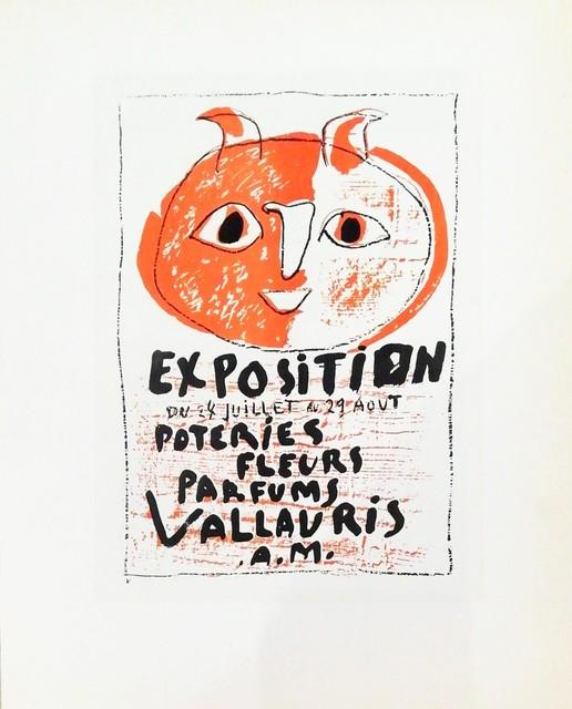 Pablo Picasso, 'Exposition Poteries Fleurs, Parfums', 1959, Hidden