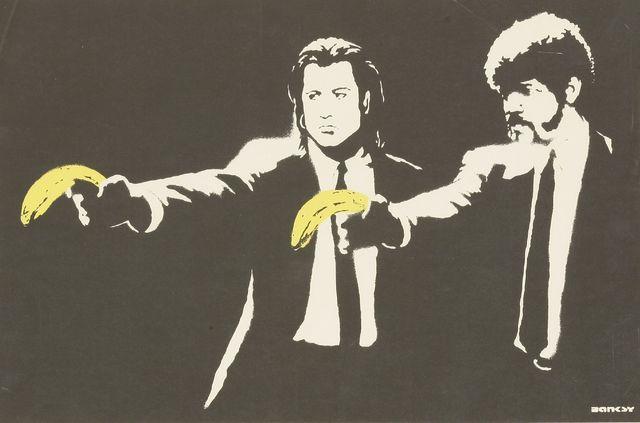 Banksy, 'Pulp Fiction', 2004, Sworders