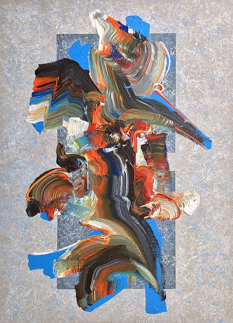 Dennis Kleidon, 'Unleashed #19', 2019, Painting, Acrylic on canvas, Walter Wickiser Gallery