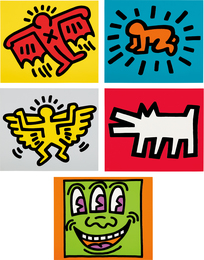 Keith Haring, 'Icons,' 1990, Phillips: Evening and Day Editions