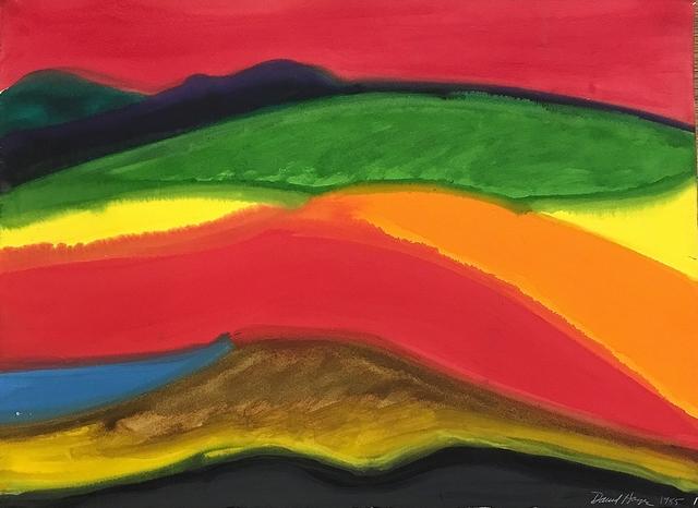 David Hayes, 'Glowing Pasture', 1985, Lawrence Fine Art