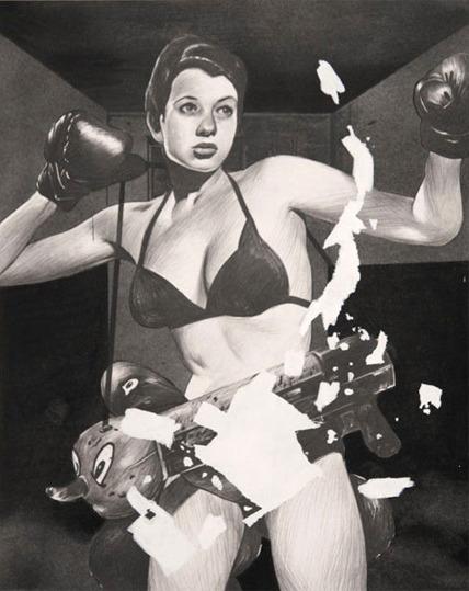 , 'Boxer,' 2010, Luis De Jesus Los Angeles