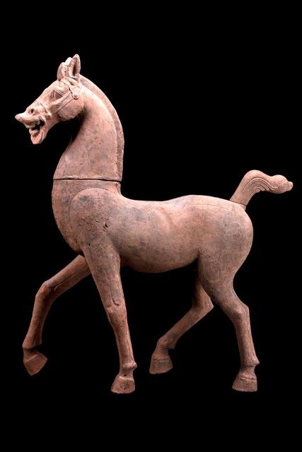 Han Dynasty, 'Monumental Terracotta Horse – TL Tested', 206 BCE-220, Muzeion Gallery