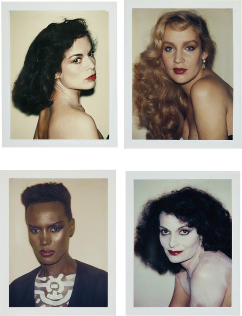 Andy Warhol, 'Bianca Jagger, Jerry Hall, Grace Jones, Diane von Fürstenberg', 1974-1984, Phillips