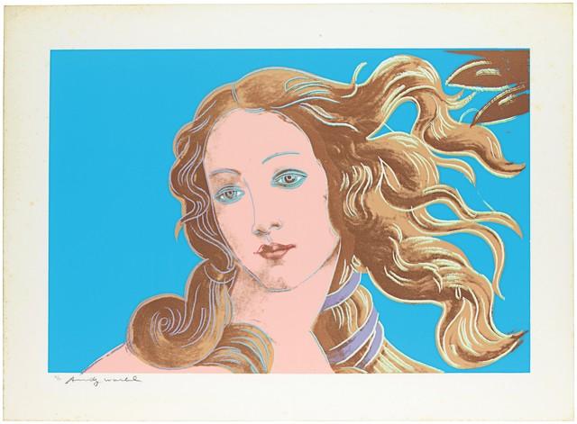 Andy Warhol, 'Details of Renaissance Paintings (Sandro Botticelli, Birth of Venus)', 1984, Christie's