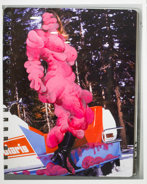 , 'Pink Girl,' 2014, Powen Gallery