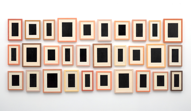 Allan McCollum, 'Collection of Thirty Plaster Surrogates', 1982-1990, Galerie Thomas Schulte